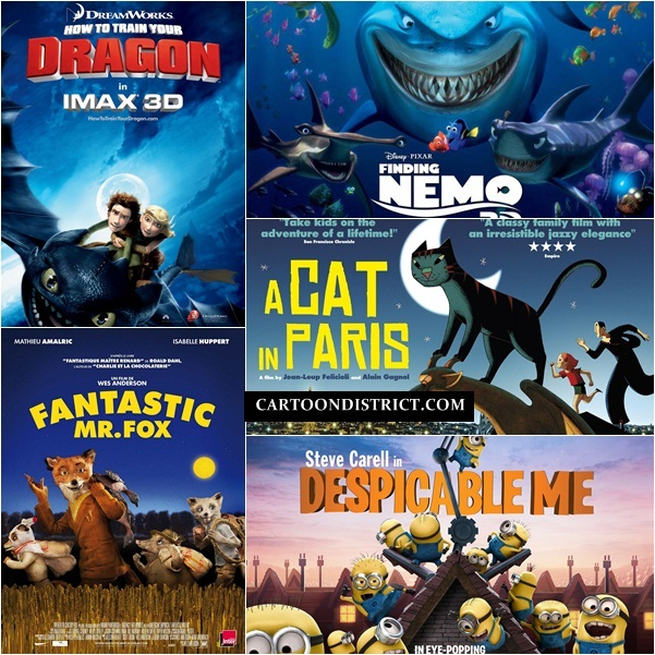 Best Cartoon Movies of all time1.1
