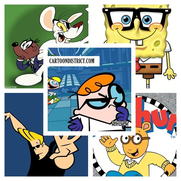 Famous Cartoon Characters with Glasses1.1