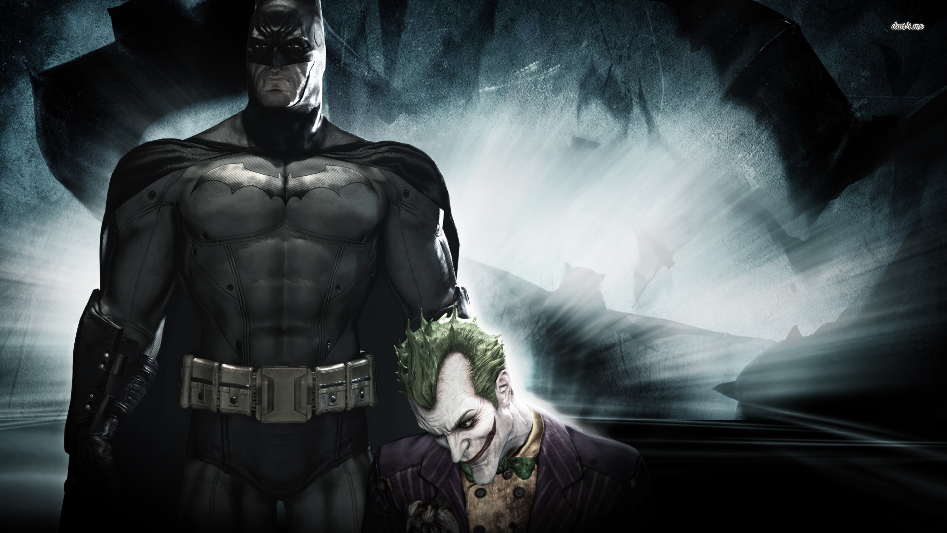 Batman and Joker Wallpaper for Desktop (3)