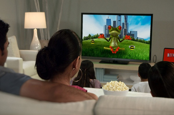 NETFLIX, INC. - More Than 40 Per Cent of Canadian Children Have