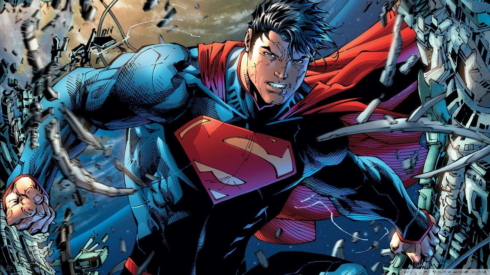 Hd wallpaper comic - Superman Hd Wallpaper For Desktop 14