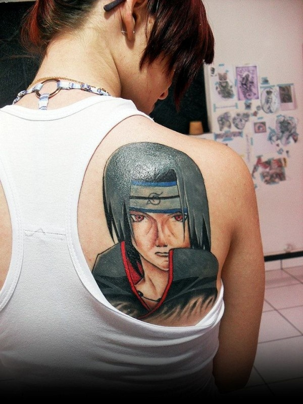 10 beautiful anime tattoo ideas and designs online fanatic for Online tattoo maker