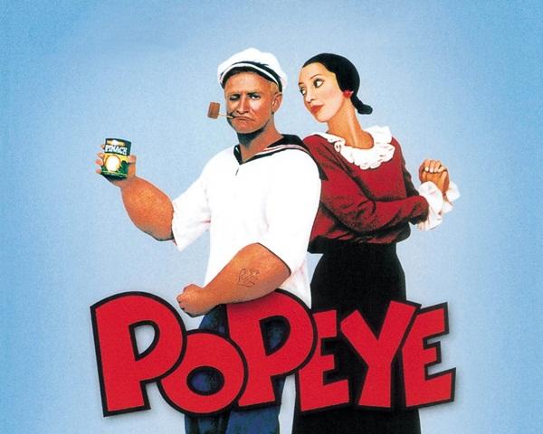 Cartoon Characters Movies : Popeye movie the bodyproud initiative