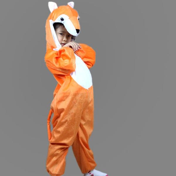 children happy with funny cartoon dresses00