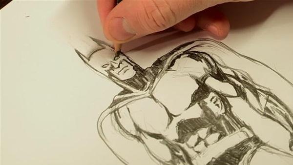 hoe to make cartoon sketches4