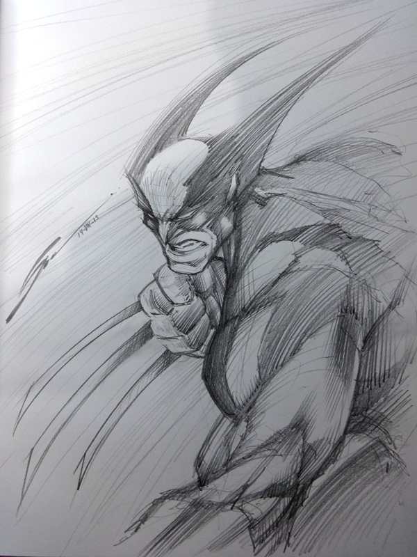 wolverine cartoon character sketches8