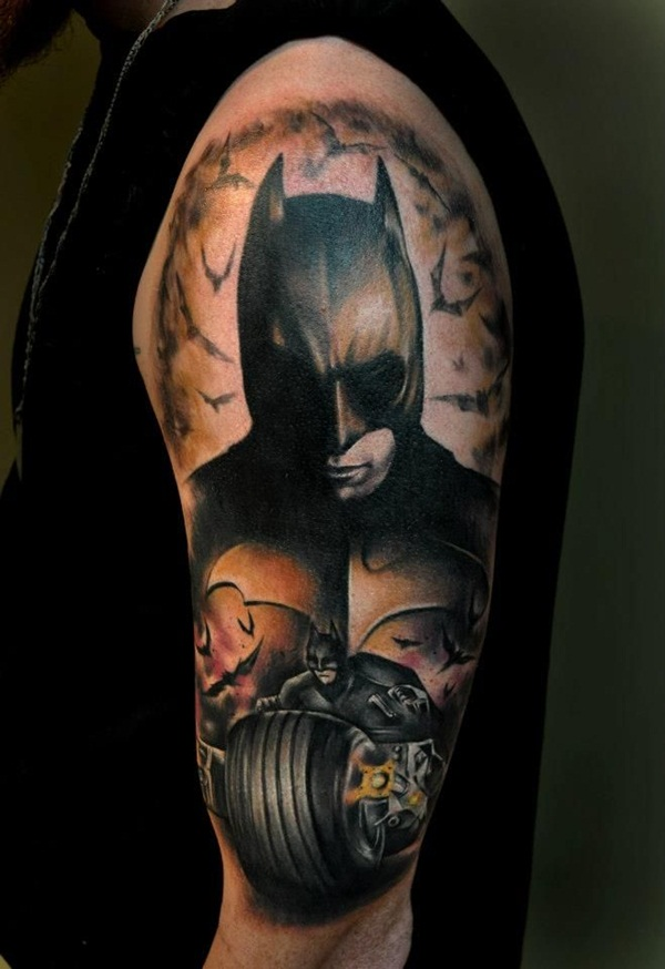 batman tattoo designs for men and women28