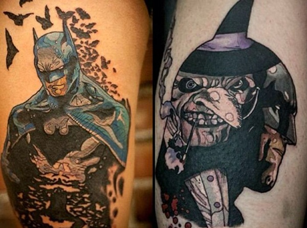35 batman tattoo designs for men and women. Black Bedroom Furniture Sets. Home Design Ideas