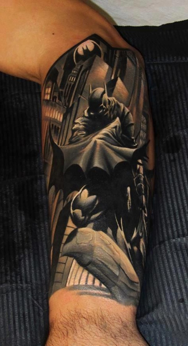 35 batman tattoo designs for men and women. Black Bedroom Furniture Sets. Home Design Ideas