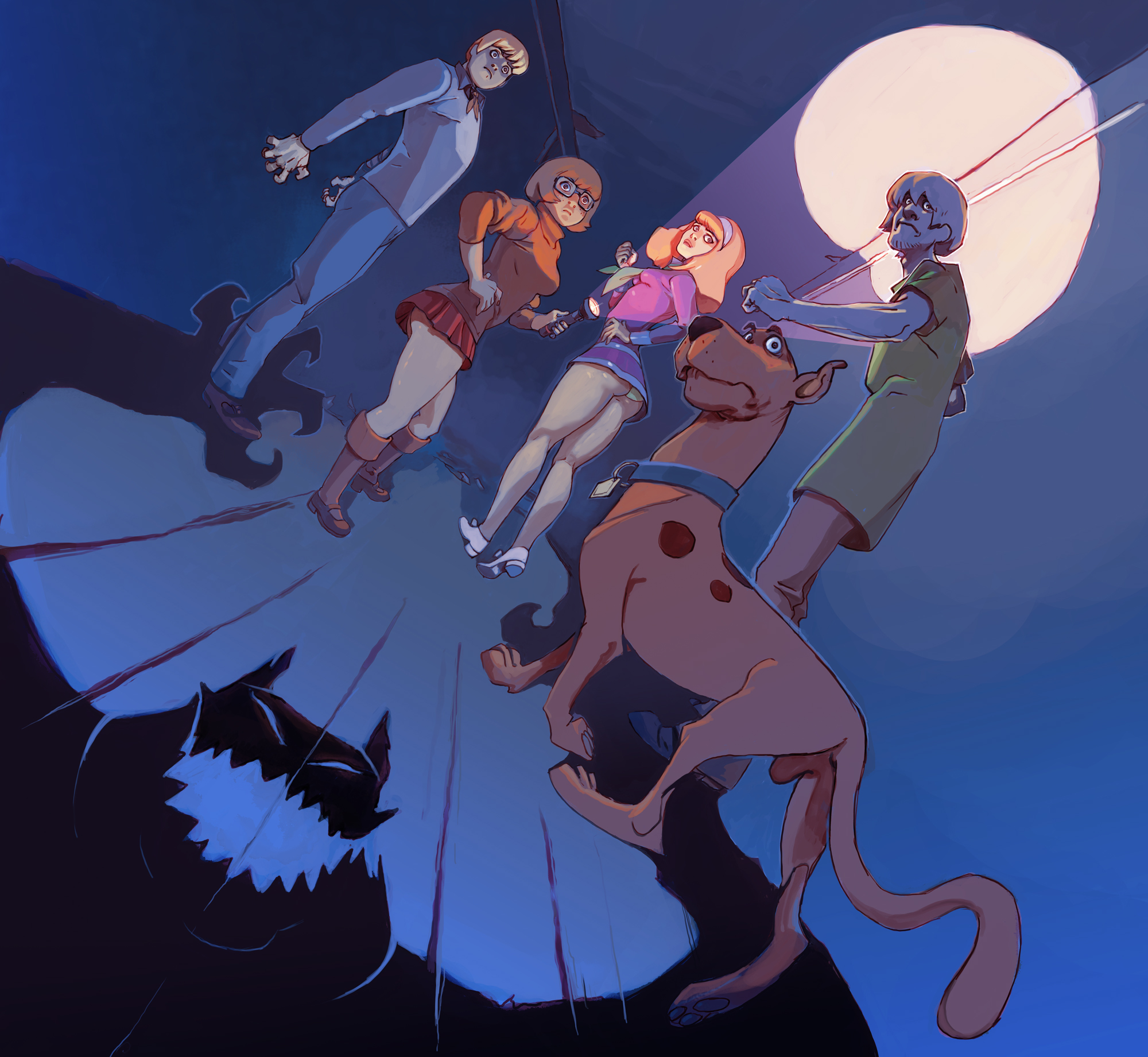 Scooby doo Characters Wallpaper for PC (4)