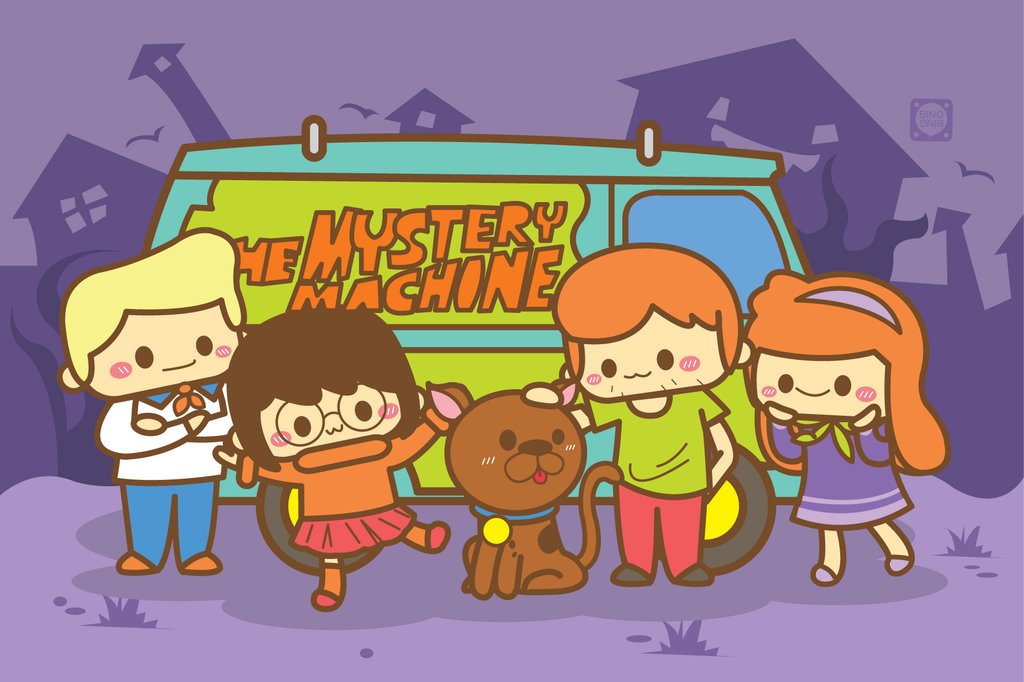 Scooby doo Characters Wallpaper for PC (5)