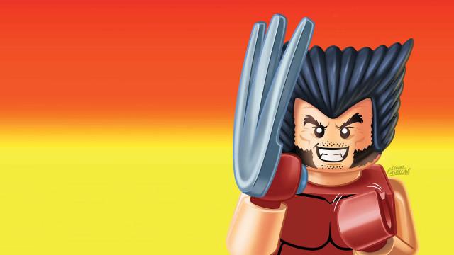 Lego-wolverine HD Desktop Background