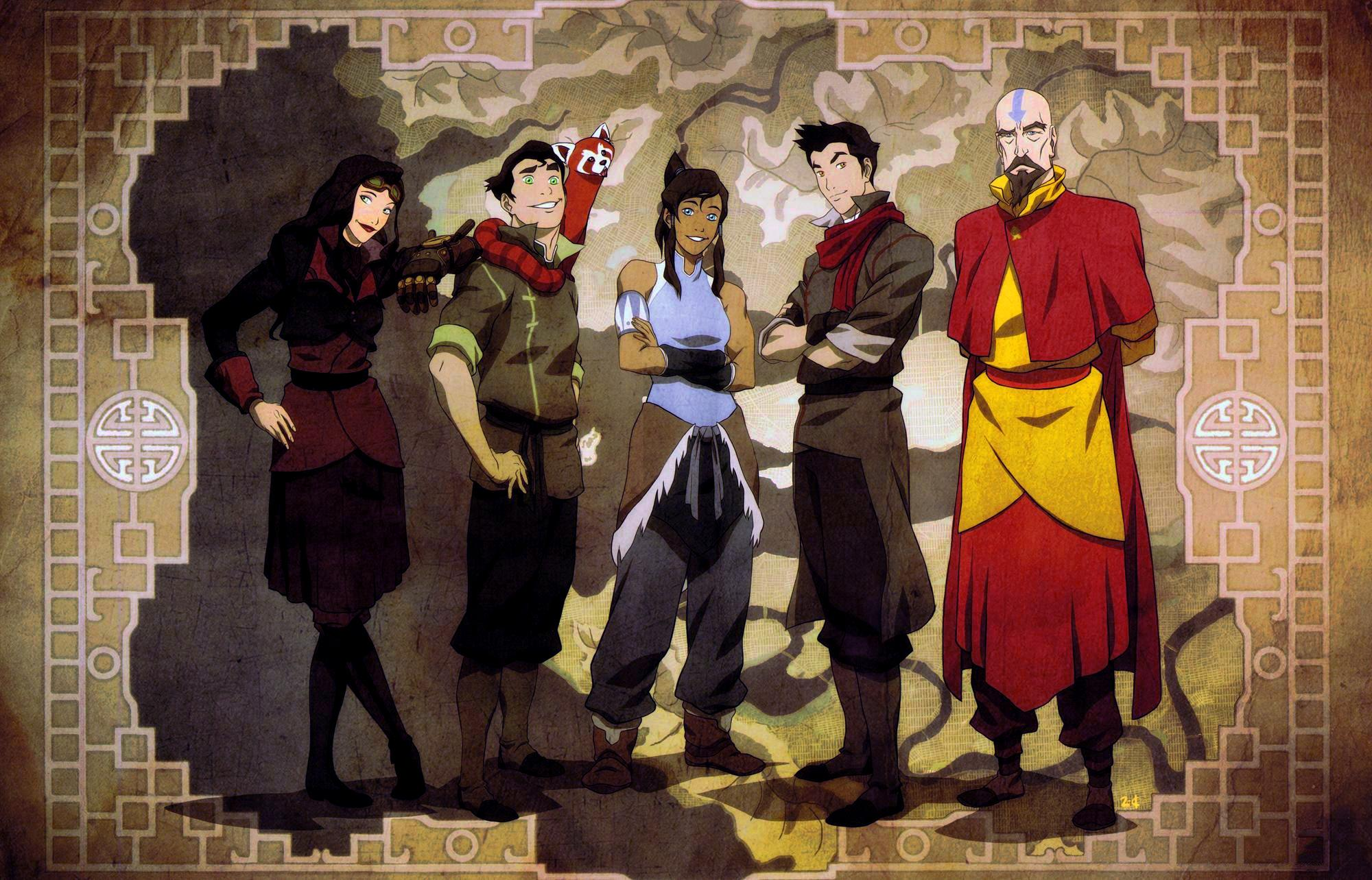Avatar The Last Airbender Characters As Adults 40 Avatar the last Air...