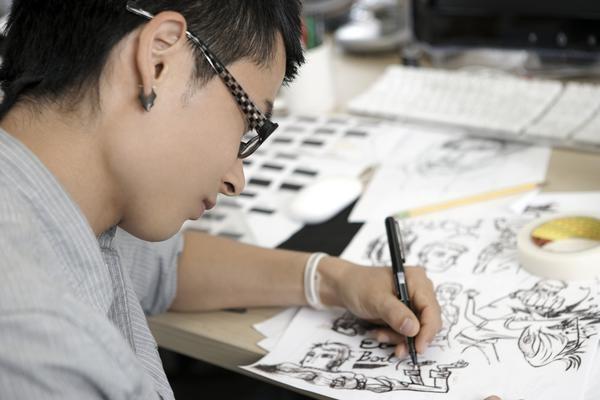 Career Perception as Cartoonist and Animator  1-001