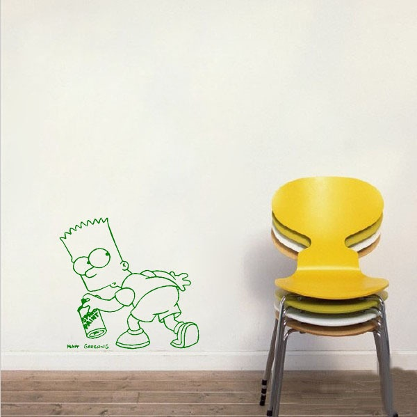 effect of cartoon wall poster3-007