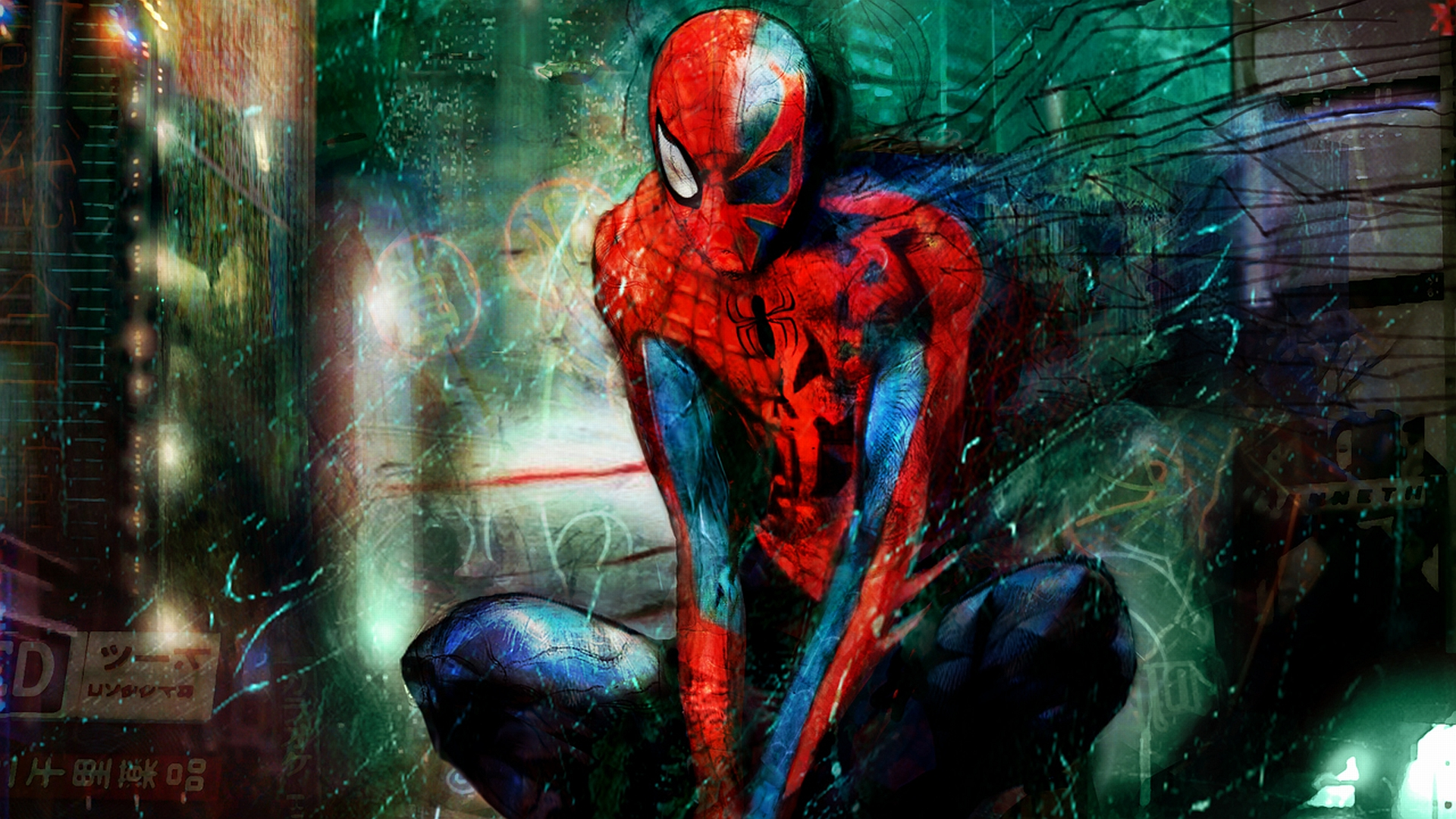 Cool Spiderman 2099 Wallpaper: 40 Amazing Spiderman Wallpaper HD For PC