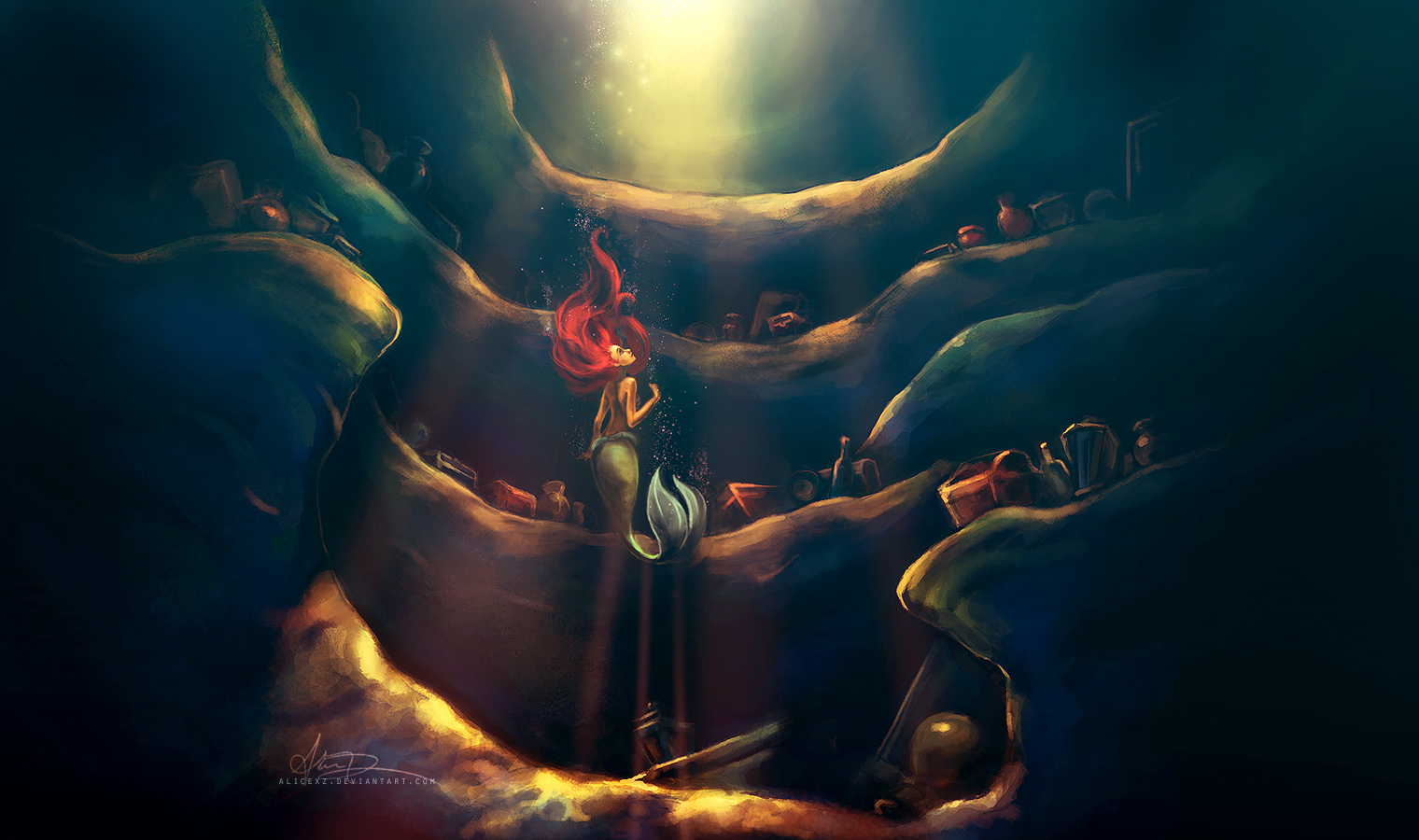 40 cute little mermaid wallpaper for desktop