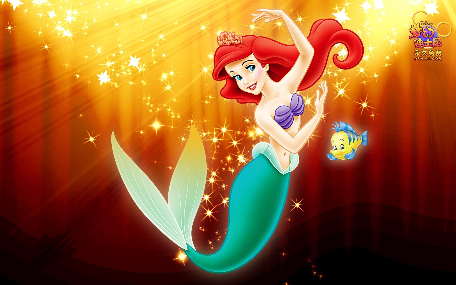 40 Cute Little Mermaid Wallpaper for Desktop