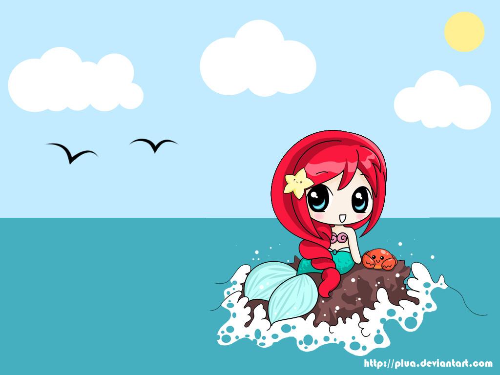 Cute Little Mermaid Wallpaper For Desktop 27