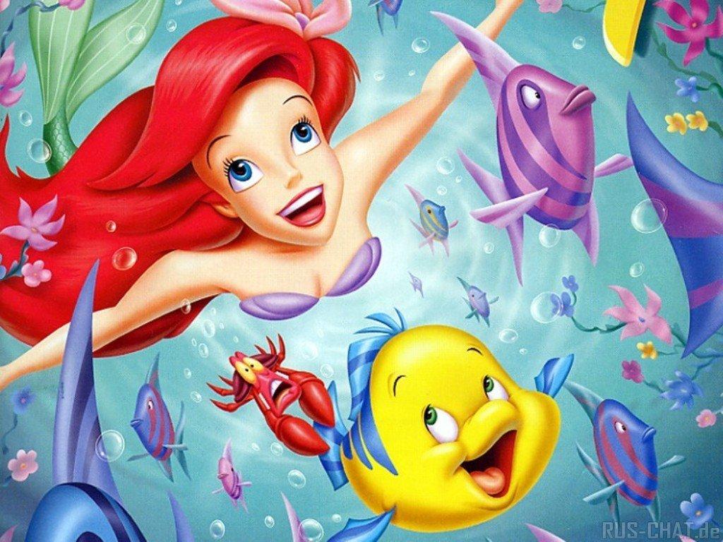40 Cute Little Mermaid Wallpaper for Desktop - photo#23