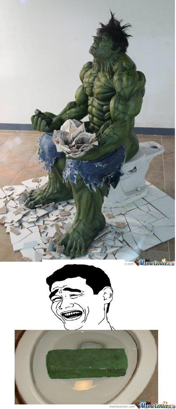 Funny Hulk memes and Pictures19-018