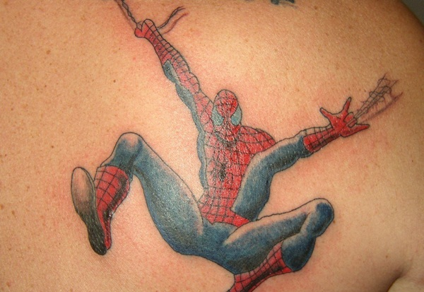 Best Free Spiderman Tattoo designs and Ideas22-022