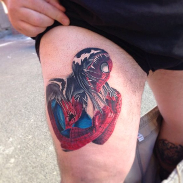 Best Free Spiderman Tattoo designs and Ideas23-023