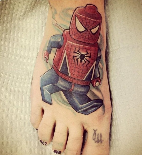 Best Free Spiderman Tattoo designs and Ideas29-029