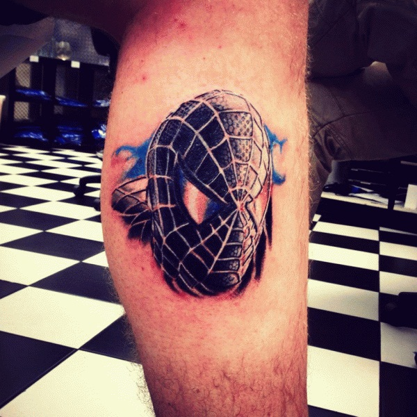 Best Free Spiderman Tattoo designs and Ideas34-034