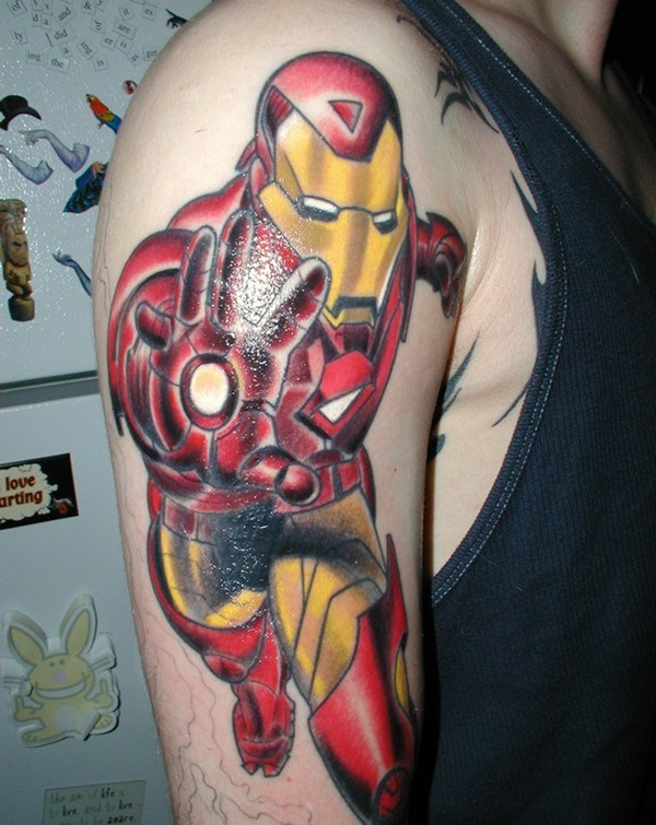 Best Ironman Tattoos Designs and Ideas12-012
