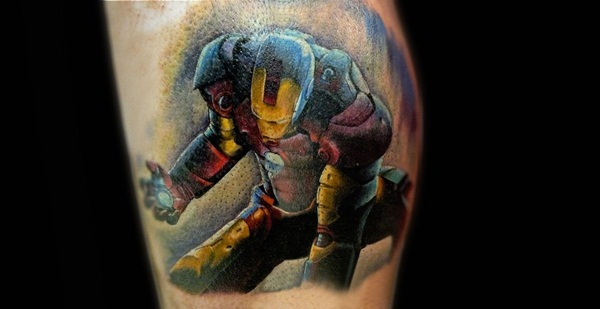 Best Ironman Tattoos Designs and Ideas13-013