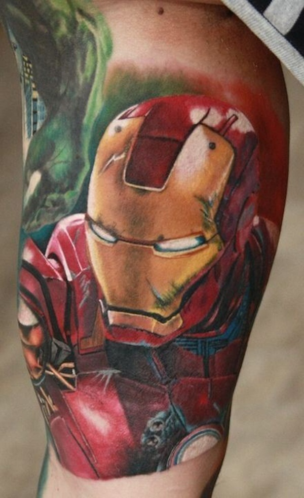 Best Ironman Tattoos Designs and Ideas14-014