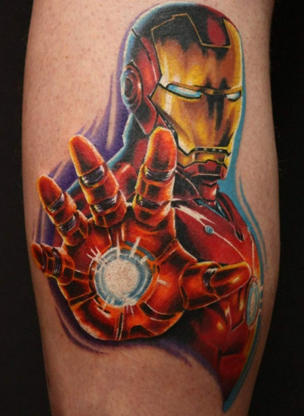 Best Ironman Tattoos Designs and Ideas16-016