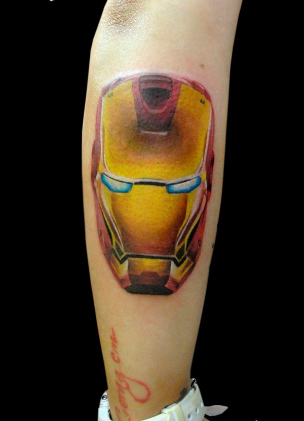 Best Ironman Tattoos Designs and Ideas19-019