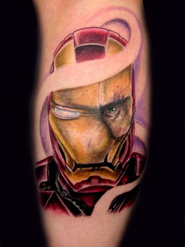 Best Ironman Tattoos Designs and Ideas20-020