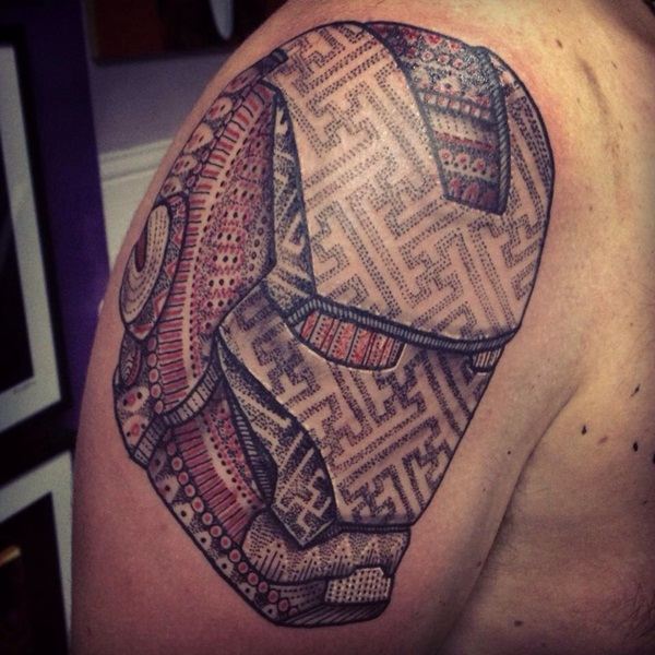 Best Ironman Tattoos Designs and Ideas22-022