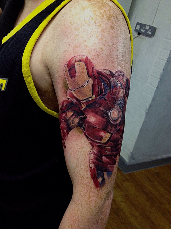 Best Ironman Tattoos Designs and Ideas24-024
