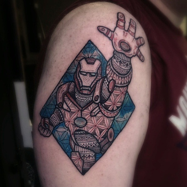 Best Ironman Tattoos Designs and Ideas29-029