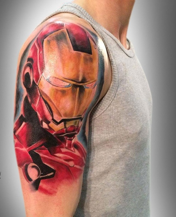 Best Ironman Tattoos Designs and Ideas3-003