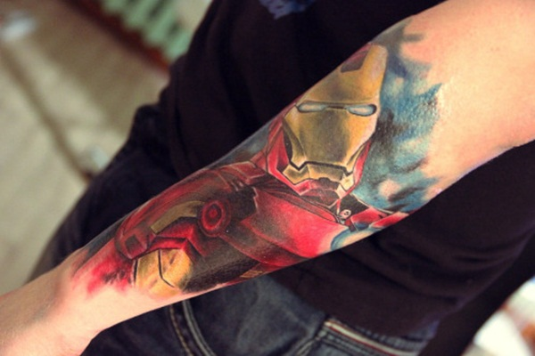 Best Ironman Tattoos Designs and Ideas31-031