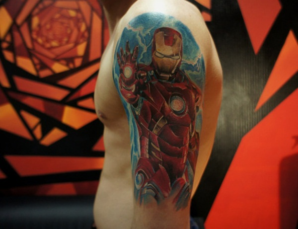 Best Ironman Tattoos Designs and Ideas32-032