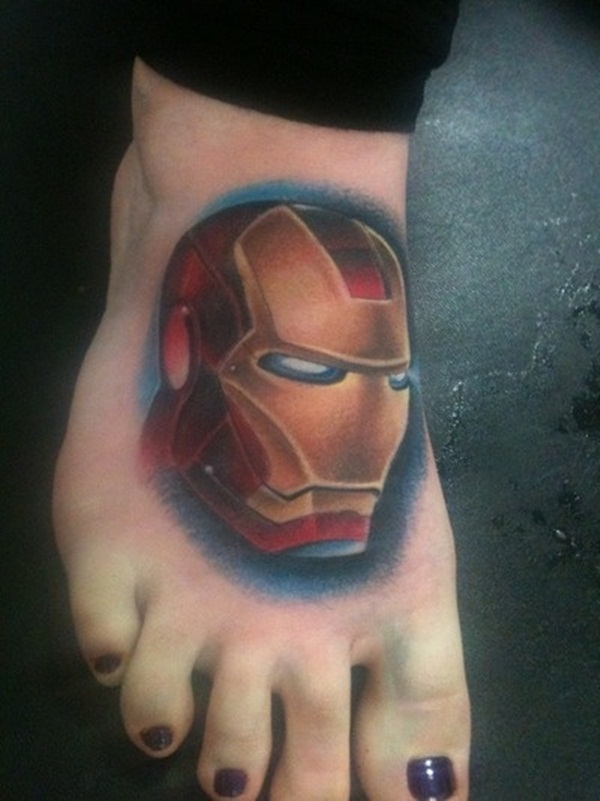 Best Ironman Tattoos Designs and Ideas33-033