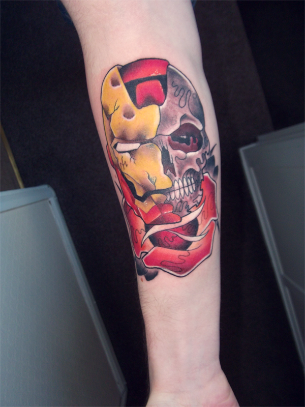 Best Ironman Tattoos Designs and Ideas34-034