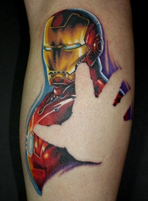 Best Ironman Tattoos Designs and Ideas9-010