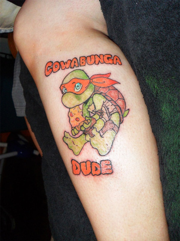 Ninja Turtle Tattoos Designs and Ideas10-010