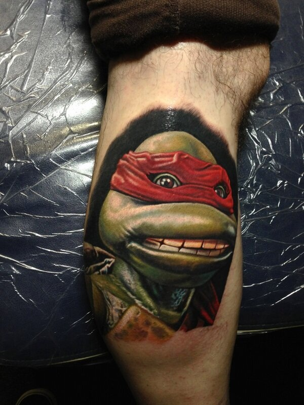 Ninja Turtle Tattoos Designs and Ideas17-017