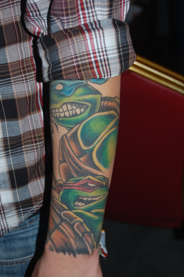 Ninja Turtle Tattoos Designs and Ideas19-019