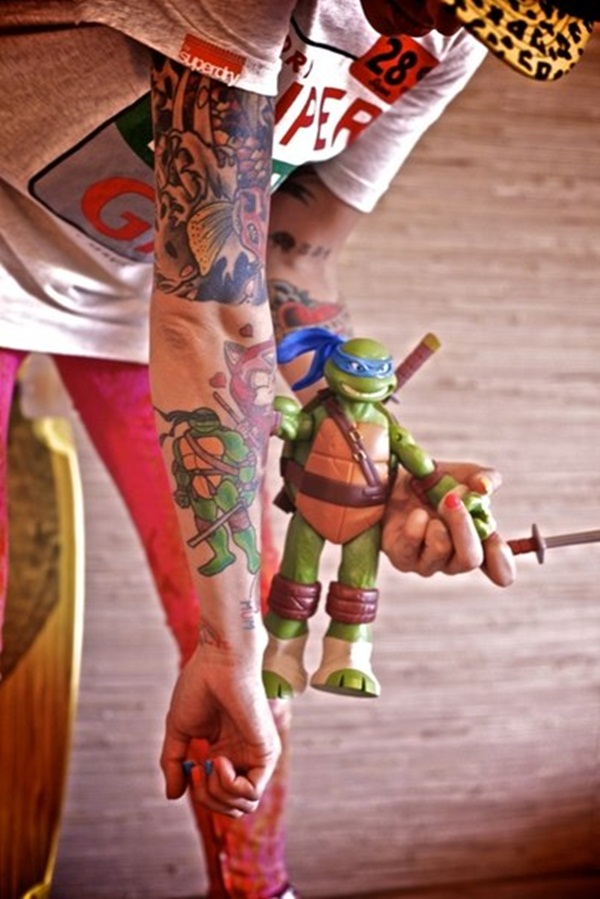 Ninja Turtle Tattoos Designs and Ideas2-002