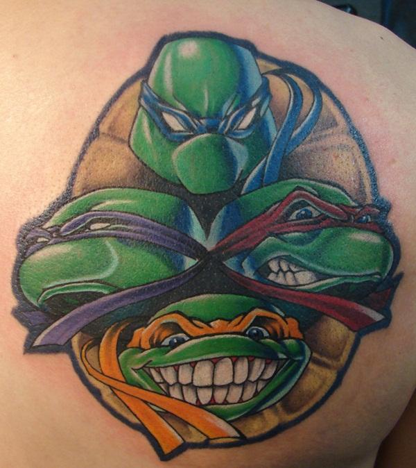 Ninja Turtle Tattoos Designs And Ideas22 022 Cartoon District