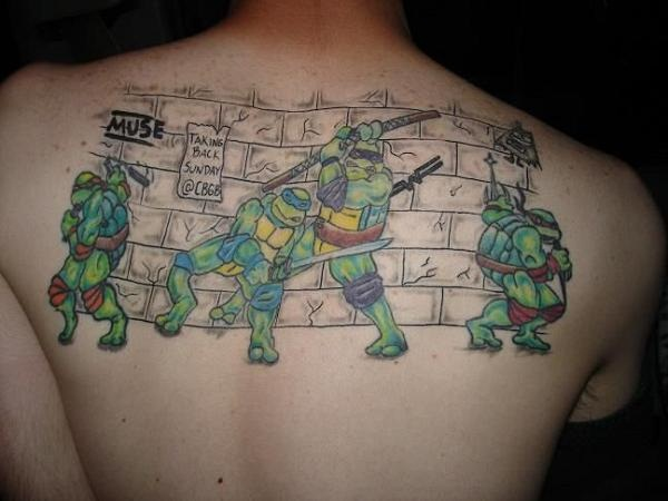 Ninja Turtle Tattoos Designs and Ideas34-034